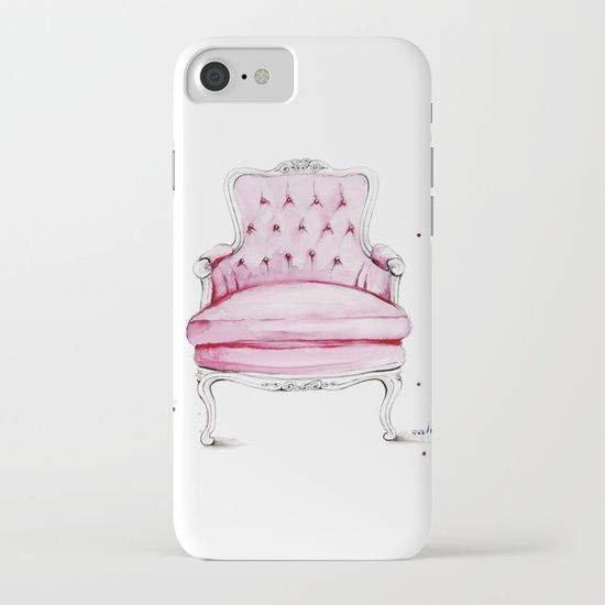 Society6 | $38.00 | Our Slim Cases are constructed as a one-piece, impact resistant, flexible plastic hard case with an extremely slim profile. Simply snap the case onto your phone for solid protection and direct access to all device features.