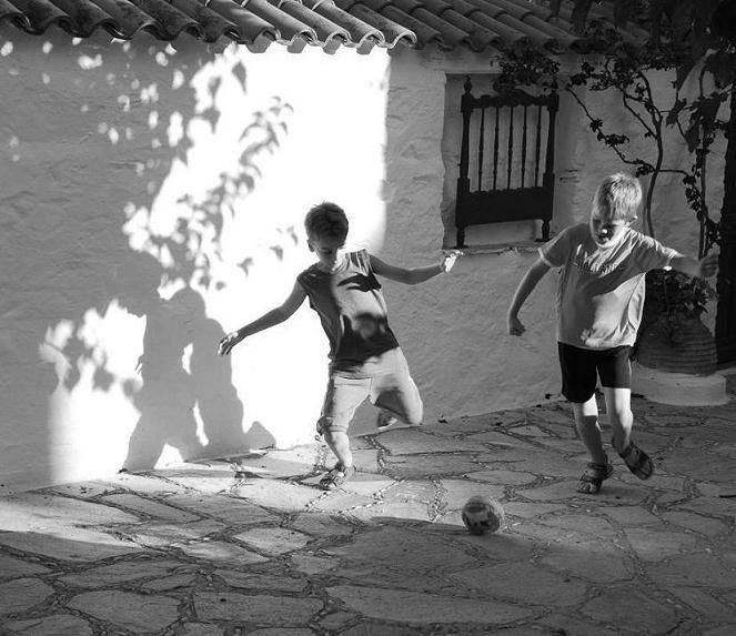 Μπάλα στην αυλή