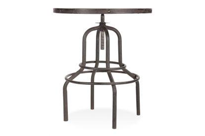 Rustiek in stijl, is de Nantes bartafel is een opvallende nieuwe toevoeging voor elke moderne of traditionele keuken of eetkamer. Met een stalen onderstel en iepenhouten tafelblad heeft de tafel een gebruikte uitstraling, ideaal om een interieur te verlevendigen. De tafel is in hoogte verstelbaar. Combineer de tafel met industrile stijl barkrukken voor een prachtig effect! Als u een nieuwe blikvan