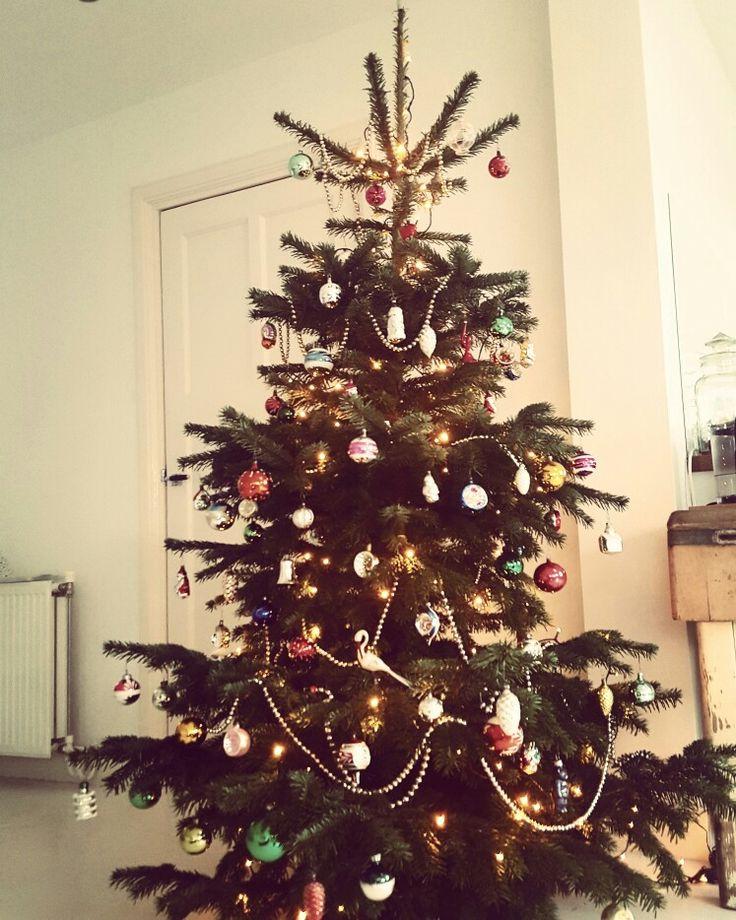 Nostalgische kerstboom 2016
