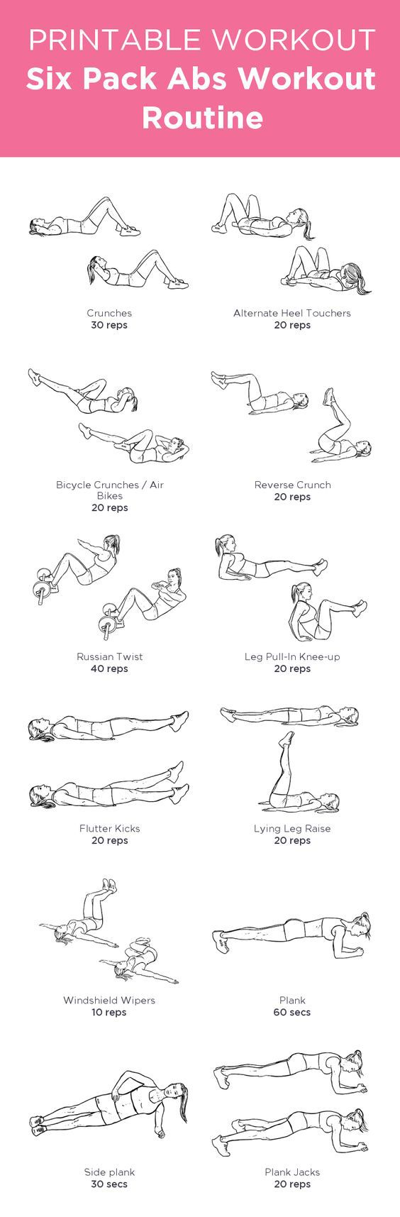 Six Pack Abs Workout | Posted By: AdvancedWeightLossTips.come