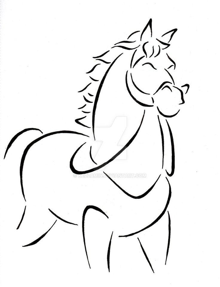 Line Drawing Disney : Maximus by kezzamin on deviantart drawings pinterest