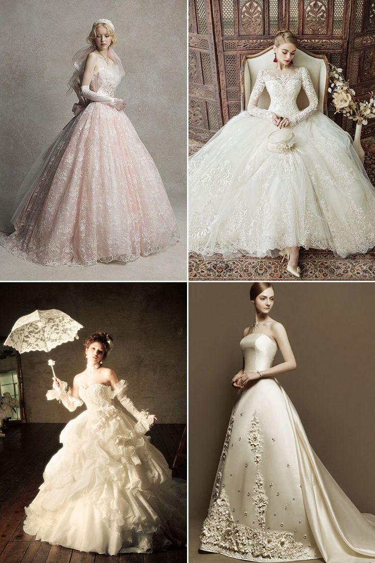 1801 best Modern and Vintage Wedding Dresses images on Pinterest ...