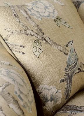 Zoffany Fabric Woodville in Pebble - 321433, www.eadeswallpaper.com  #designerwallpaper  #wallpapersale  #DIY