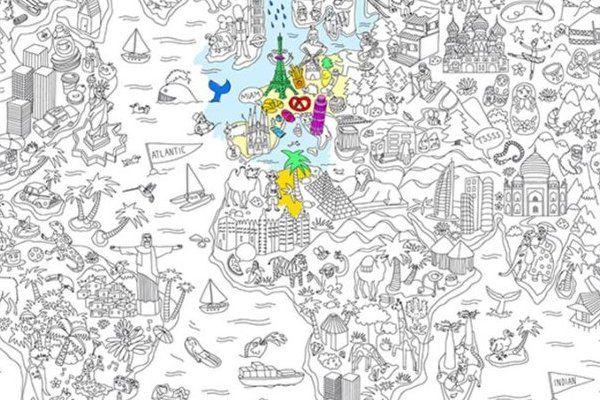 Carte géante coloriage Omy  http://www.homelisty.com/idee-cadeau-du-jour-une-carte-du-monde-geante-a-colorier/