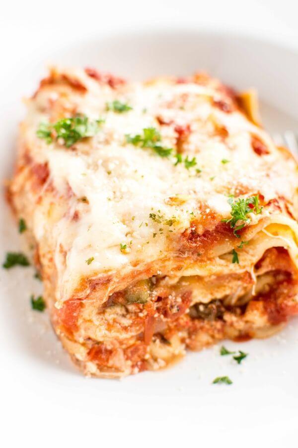 Crock Pot Veggie Lasagna