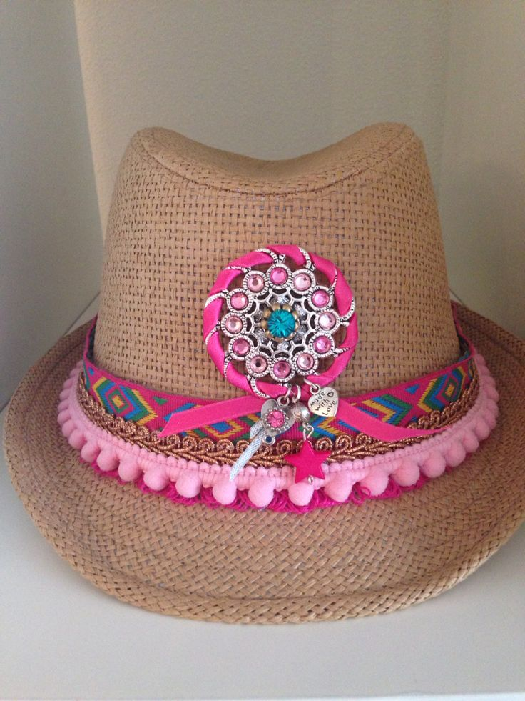 Ibiza hoedje roze
