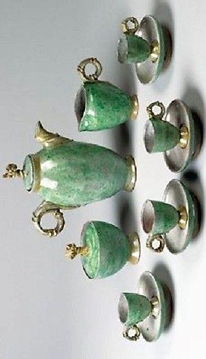 Vally Wieselthier (österreichisch, 1895 - 1945) Titel:     Kaffeeservice für 4 Personen , 1920  Medium:     ceramic, glazed Größe:     22 cm (8,7 in)