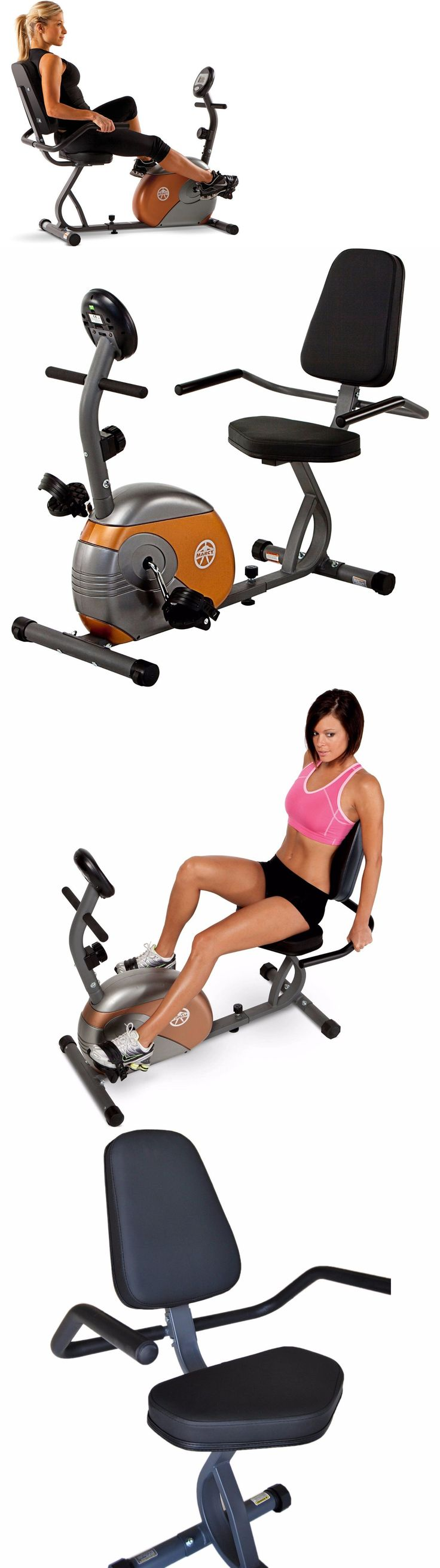 Exercise Bikes 58102: Recumbent Exercise Bike Fitness Stationary Cardio Bicycle Workout Cycling Indoor -> BUY IT NOW ONLY: $124.5 on eBay!