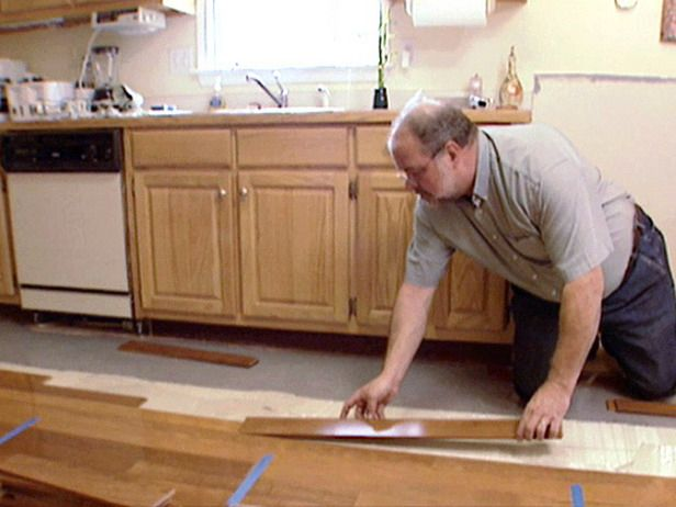 How to Install Hardwood Floors Over Concrete : How-To : DIY Network - 40 Best Installing Wood Floors Images On Pinterest Woods