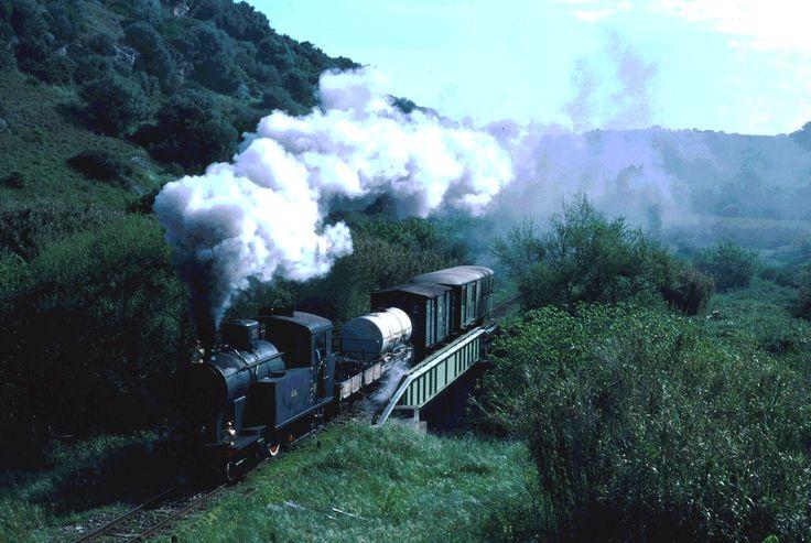 Il treno procedeva con ritmo irritato e irregolare, fermandosi a tutte le piccole stazioni, sempre più frequenti, per sostarvi impaziente un momento e riattaccare poi la prateria. Ma il suo avanzare era impercettibile nella vasta pianura appena ondulata, come un'immensa coperta d'un bruno rosato scossa di tanto in tanto; più il treno andava veloce, più le ondulazioni si replicavano irridenti,,,tratto da Patricia Highsmith, Sconosciuti in treno... photo by Loybillyrock