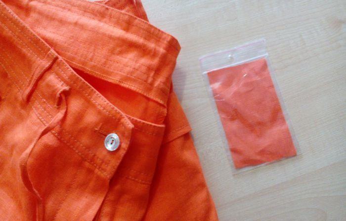 Для чего на деле нужен кусочек ткани, который прилагается к новой одежде / Домоседы