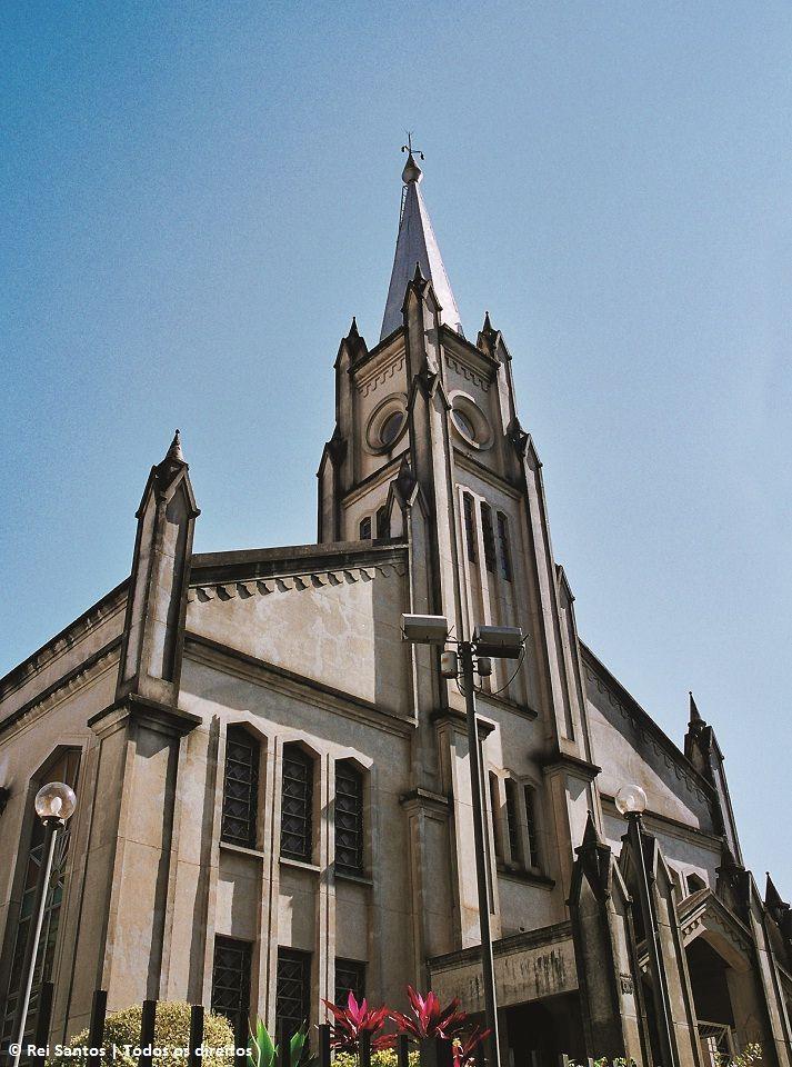 Igreja presbiteriana central - década de 80(Londrina)