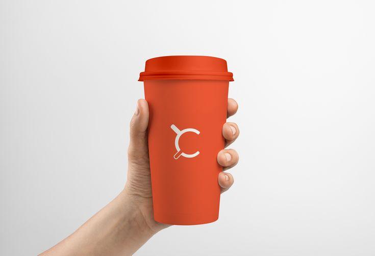 """다음 @Behance 프로젝트 확인: """"2 Coffee Visual Identity"""" https://www.behance.net/gallery/44003417/2-Coffee-Visual-Identity"""