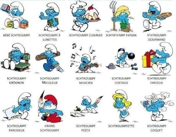 Smurfs / Les Schtroumpfs