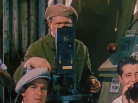 Movie Cameras on Parade, from hand cranked cracker boxes to Multiplane Technicolor. 1937 - 1941.