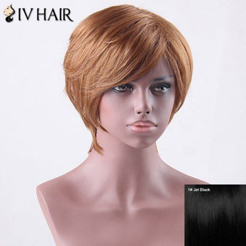 GET $50 NOW   Join RoseGal: Get YOUR $50 NOW!http://www.rosegal.com/human-hair-wigs/short-side-bang-straight-siv-827140.html?seid=4695937rg827140