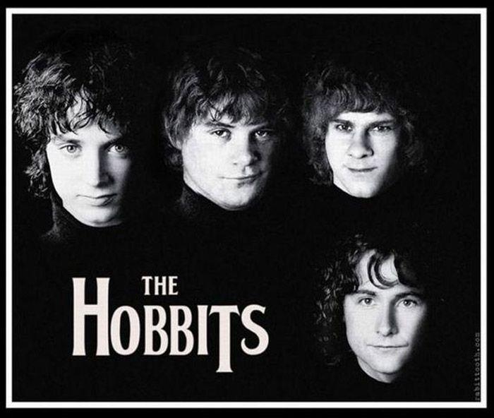 Los hobbits como los beatles.