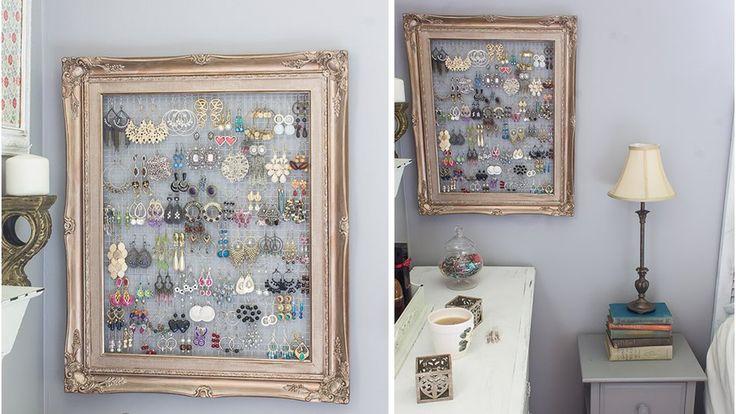 les 306 meilleures images propos de astuces d co rangement sur pinterest id es de rangement. Black Bedroom Furniture Sets. Home Design Ideas
