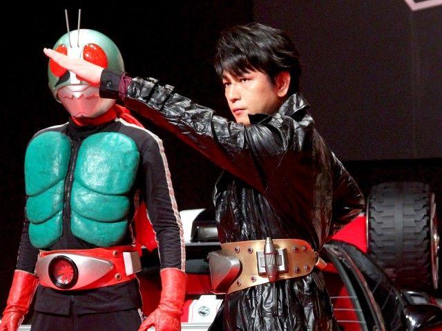 及川光博、幻の仮面ライダー3号に大抜てき!夢の実現に感無量!
