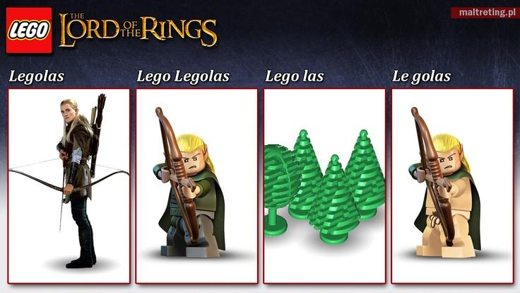 Bo to jest słów cięcie zawzięcie... I jeszcze do tego Lego. I Władca Pierścieni.