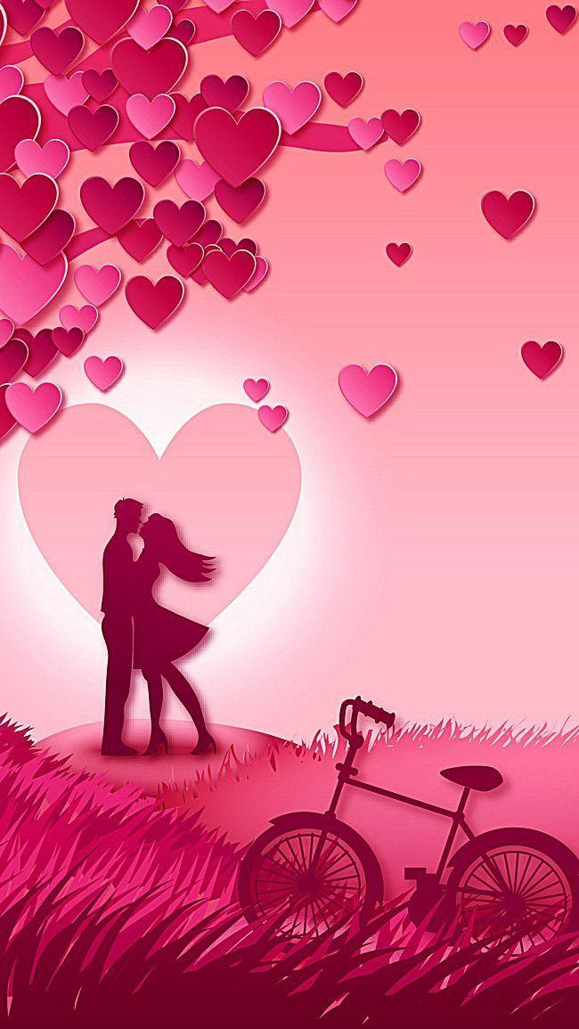 Valentine S Day Background H5 De Fundo Dia Dos Namorados H5 Valentine S Day Background H5 Cute Love Wallpapers Love Couple Wallpaper Love Wallpapers Romantic