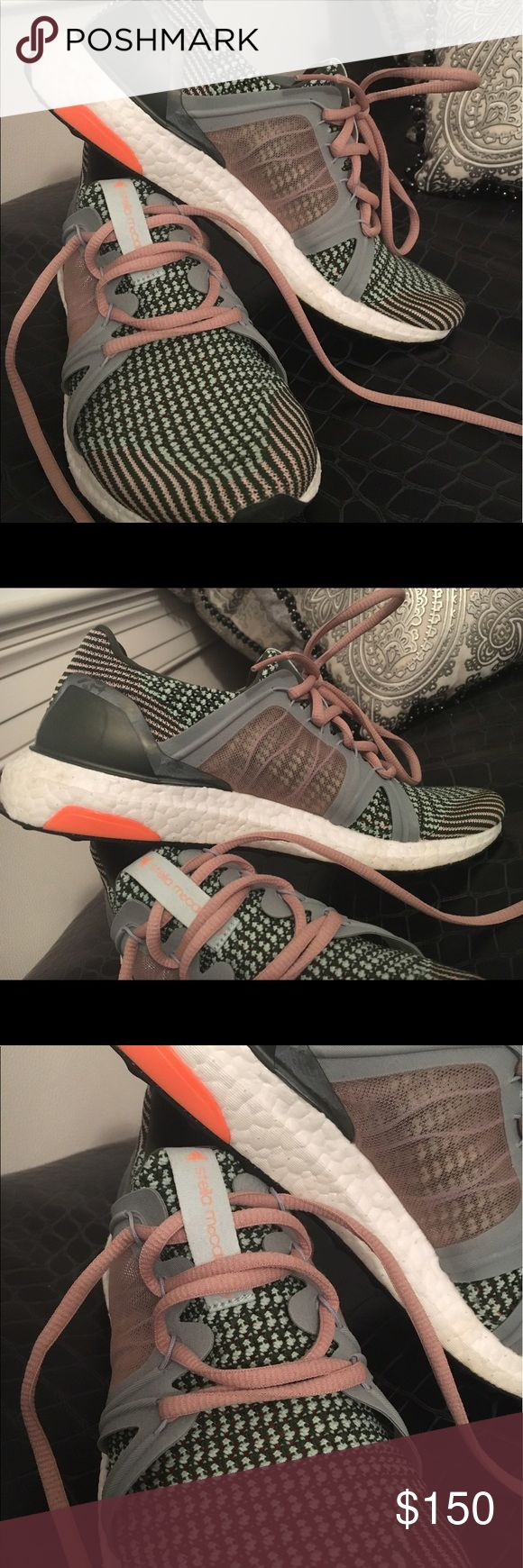 adidas by Stella McCartney boost sneakers Multi color knit ultra boosts by Stella McCartney for adidas Adidas by Stella McCartney Shoes Athletic Shoes