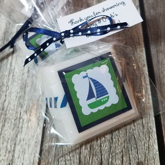 Nautical Baby Shower Favors  Sailboats  baby Shower Favors
