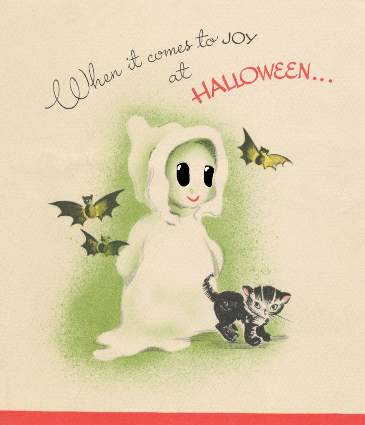 17 Best images about vintage halloween – Free Halloween Birthday Cards