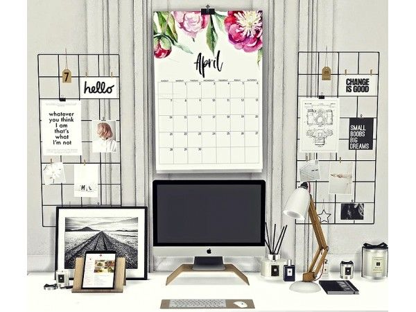 2019 Calendar set by Sooky – The Sims 4 Download – SimsDomination – Celin123
