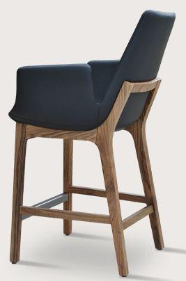 Armchair Barstool Wood Base - Soho Concept Eiffel Wood Arm Stool Eiffel Wood Barstool