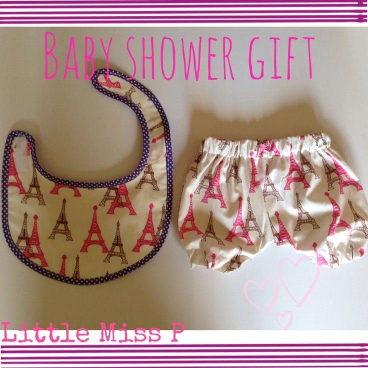 Handmade baby bib and bloomers from littlemissp.co.uk    http://littlemissp.co.uk/Baby-Bib.html