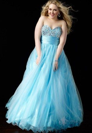 This blue ball gown is a great option for prom. We have many #plussizeeveningdresses for a client to consider.  We can make custom designs.  You can also get a #replica of any designer dress you like made for less than the original. Email us for pricing.