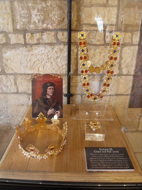 Richard III Treasures (last Plantagenet King of England)@ Monk Bar , York , England , UK | by Columbiantony (Leeds,UK)