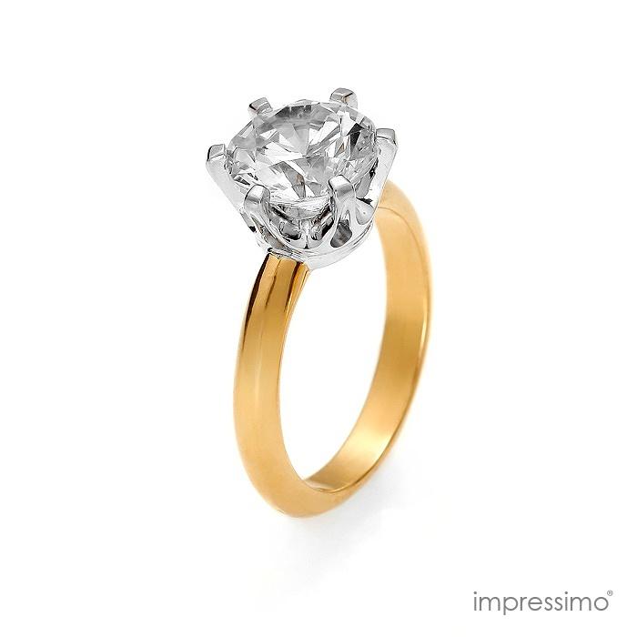 Pierścionek ekskluzywny z 0,50 ct brylantem Barwa kamieni(a): H Czas realizacji: do 10 dni roboczych Czystość kamieni(a): Si Liczba kamieni: 1 szt Masa kamieni(a): 0,5 ct Masa produktu: 3,45 g Materiał: złoto Próba materiału: 585 Rodzaj kamieni(a): brylant Średnica kamieni(a): 5 mm Brylant w królewskiej oprawie. Idealny pierścionek na zaręczyny, szczególną okazję lub inwestycję. http://impressimo.pl