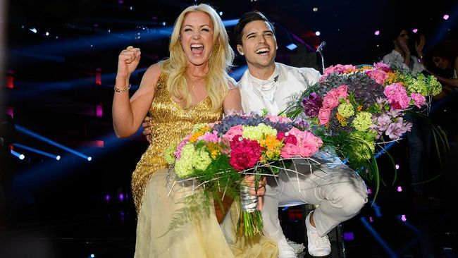 Melodifestivalen Eric Saade and Jessica Andersson