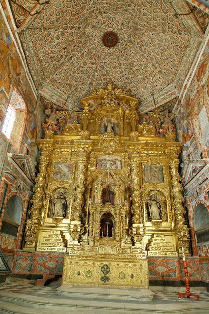 Retablo barroco Monasterio del Sancti Spiritus - España
