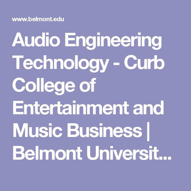 Best 25 engineering technology ideas on pinterest stems stem audio engineering technology curb college of entertainment and music business belmont university nashville fandeluxe Gallery
