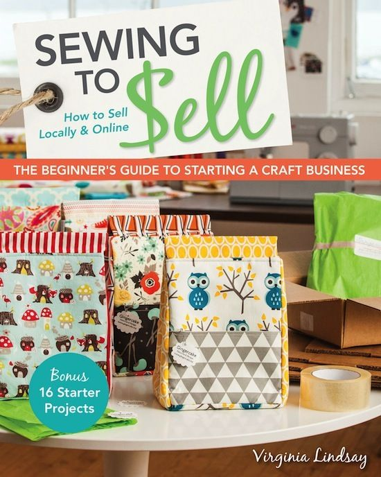 MessyJesse: Sewing To Sell Book - How To Sell Locally & Online