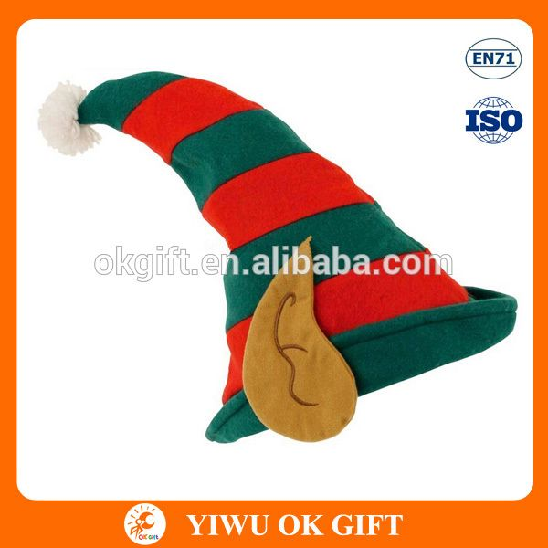 Atacado de natal do duende de Santa Hat com a orelha-imagem-Artigos para festas e eventos-ID do produto:60368543743-portuguese.alibaba.com