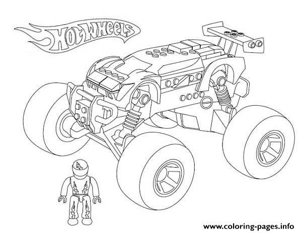 New Coloring Pages Monster Trucks For You Monster Truck Coloring