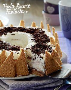 Ciambella di biscotti con Nutella e Mascarpone