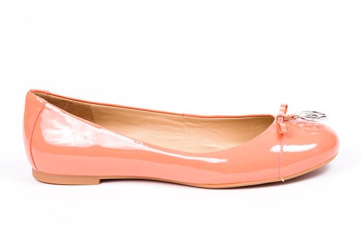 Armani Jeans SS2013 Orange Ballet Flats