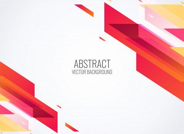 Pobierz Abstrakcjonistyczna Czerwona Geometryczna Kształtów Tła Wektoru Ilustracja Za Darmo Background Design Vector Vector Free Geometric Background