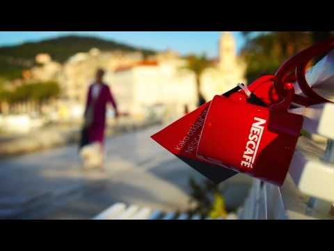 One of the biggest challenges for any social campaign is coming up with ways to link the online social world with the physical world. Nescafé found a clever way to make it happen.  Taking inspiration from the love locks that people affix to bridges, Nescafé locked coffee mugs to some bridges in Croatia that users could access if they went through the brand's Facebook app.