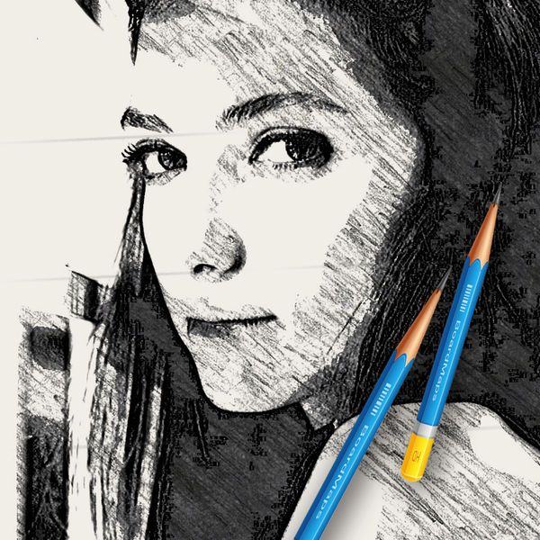 Download IPA / APK of Pic Sketch  Pencil Draw Cartoon Face Avatar Maker for Free - http://ipapkfree.download/4915/
