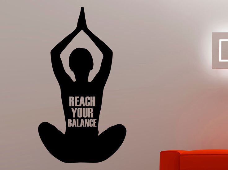 Best YogaMeditation Decor Images On Pinterest Yoga Studio - Yoga studio wall decals