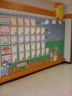 Garden of Learning AR bulletin board