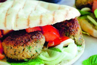 Falafel burgers – Recipes – Bite