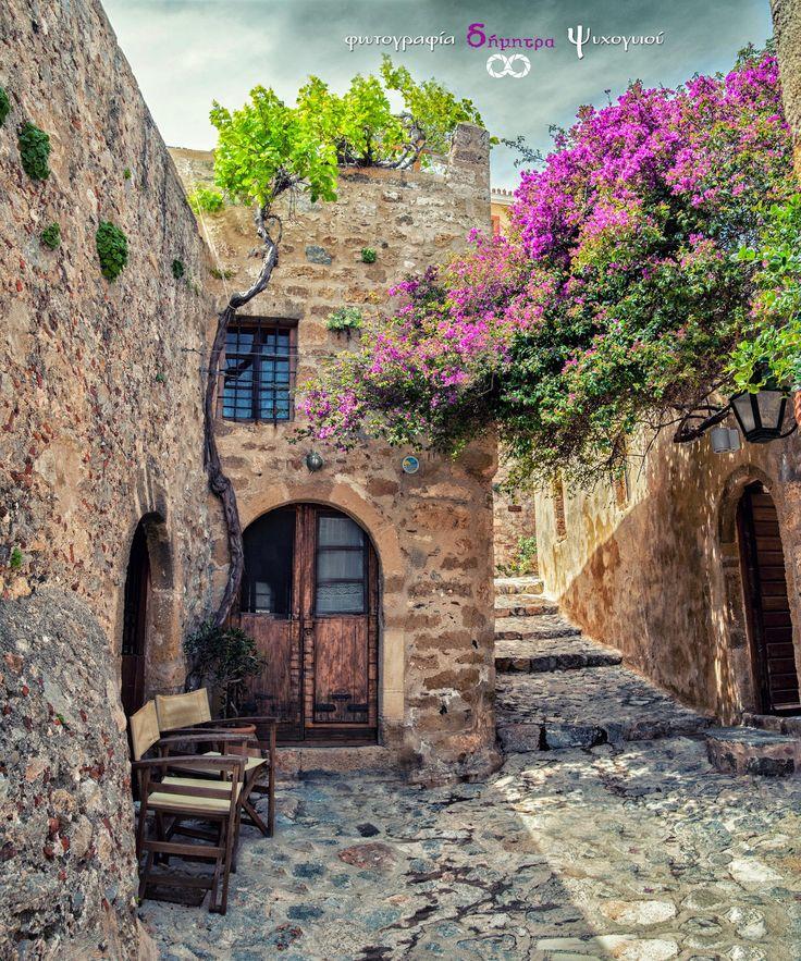 GREECE CHANNEL | Castle of #Monemvasia by Dimitra Psichogiou on 500px http://www.greece-channel.com/